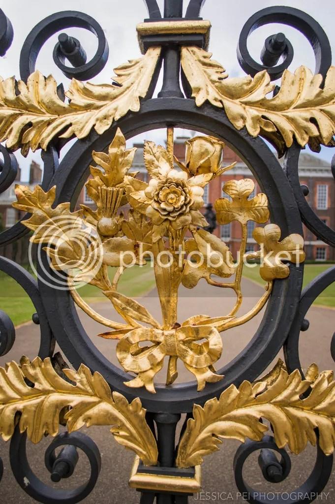 Kensington Palace golden gates