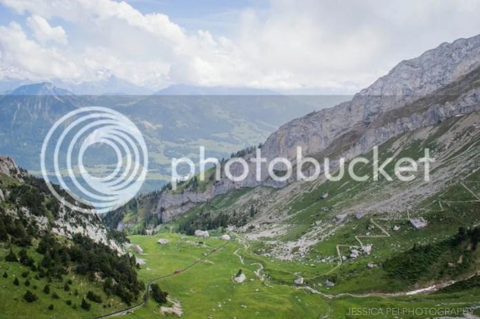top of Swiss Alps