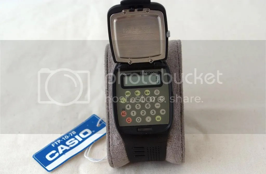 Casio FTP10 Flip Top
