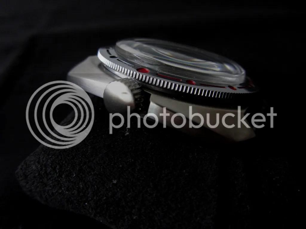 Cepillado relojes de acero
