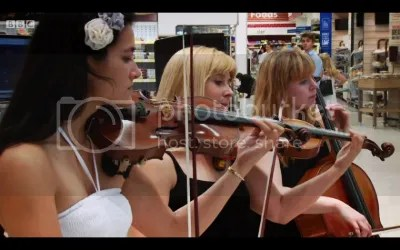 Niche String Quartet for BBC TV filming