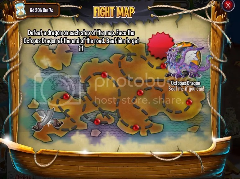 Dragon City Pirate Island