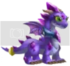 dragon city Amethyst Dragon