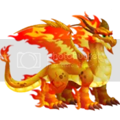 Dragon City Double Flame Dragon