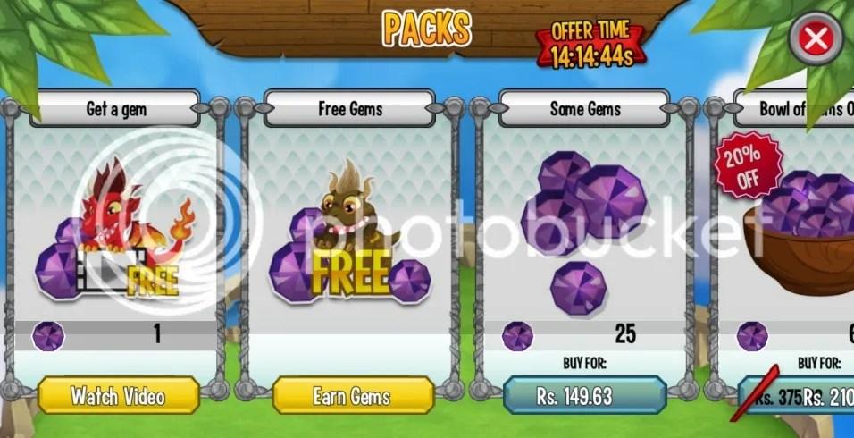 Free Gems Offer