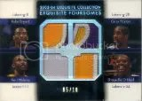 2003-04 Exquisite Lakers Patches