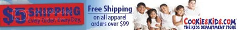 $5 Flat Rate Shipping Every Order Every Day