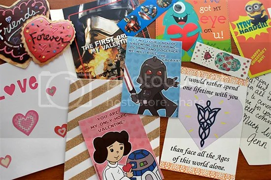 Geek Girl Bloggers V-day Card Exchange