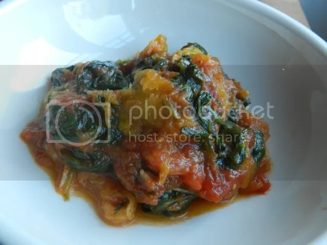 Spaghetti squash with tomato and spinach photo DSCN1724_zpsaf77f780.jpg