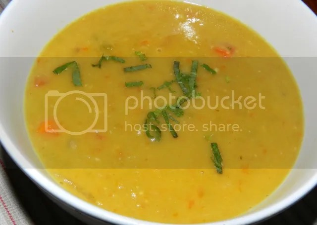 Minted Pea & Carrot Soup photo MintedPeaandCarrotSoup_zps09c2a31c.jpg
