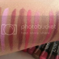 NYX Slim Lip Liner Swatches & Review