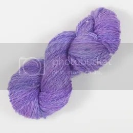 handspun beaded bfl superwash 2-ply
