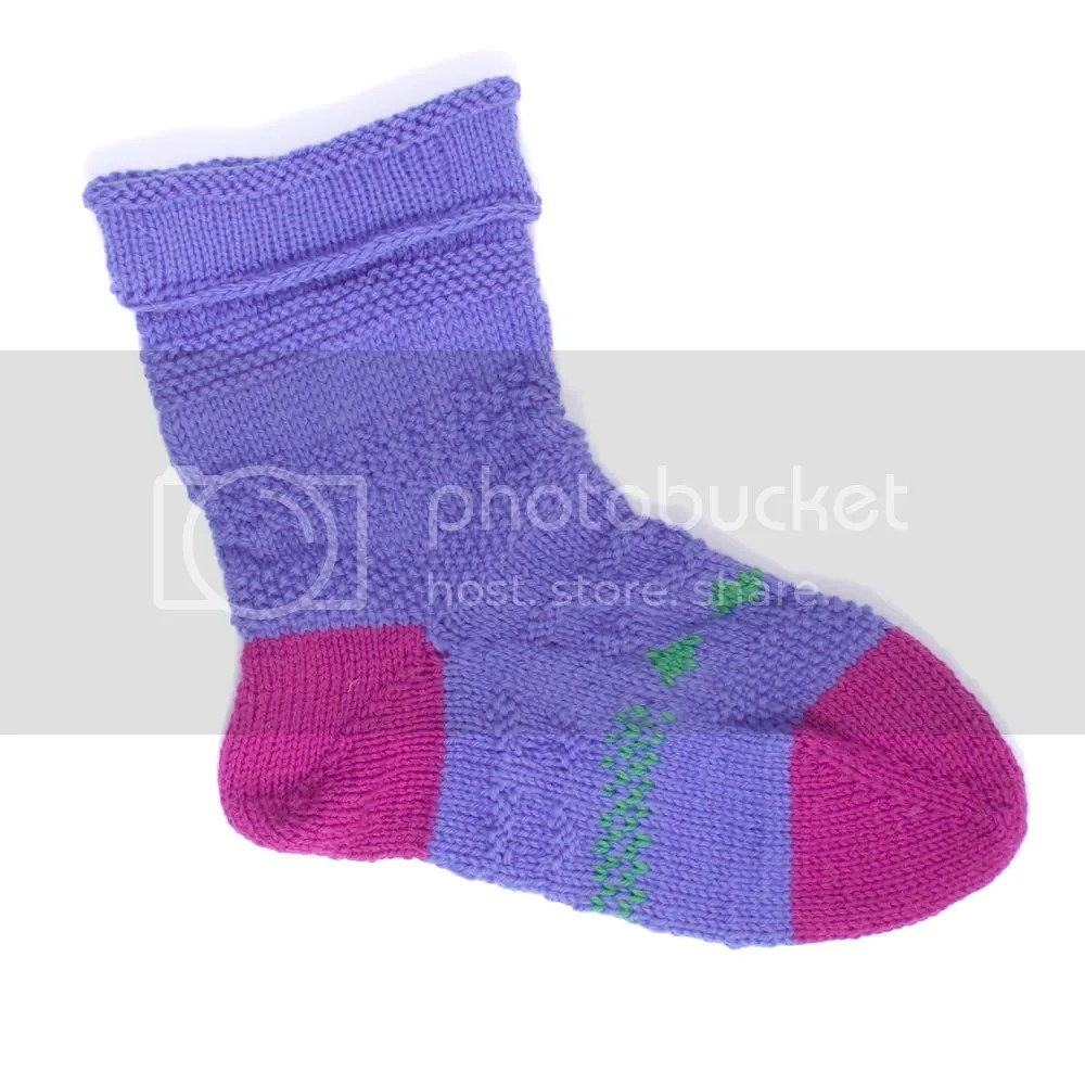 Purple Stocking