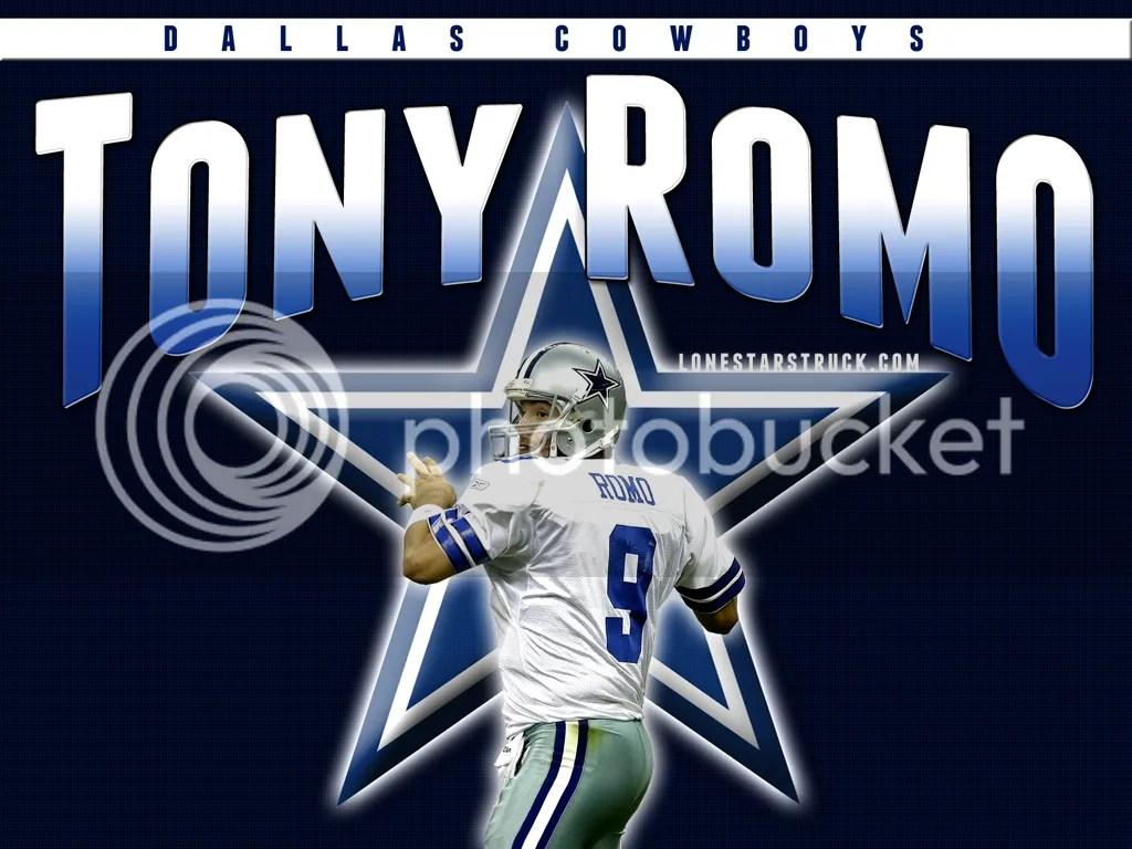 Tony Romo Back(Ground) At Ya!