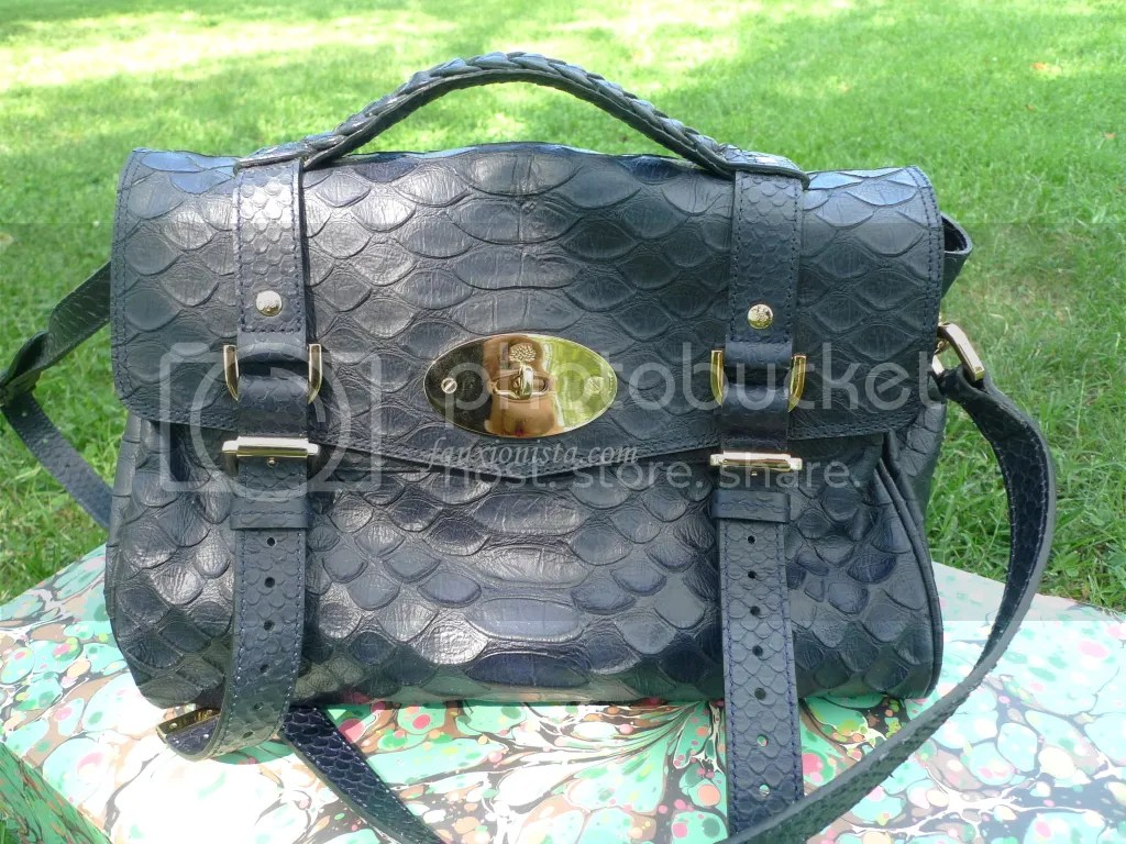 Mulberry Alexa Silky Snake Nightshade Close up
