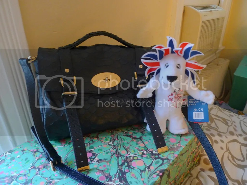 Mulberry Alexa Silky Snake Nightshade and Pride Olympic 2012 London Mascott