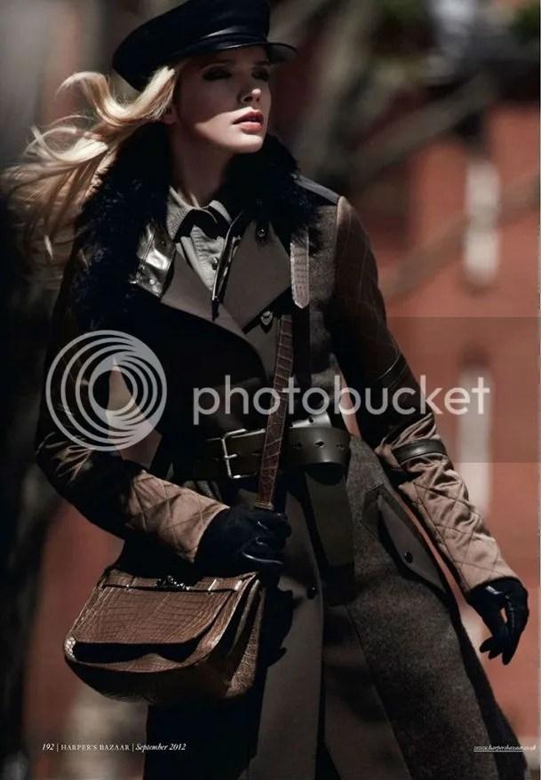 Sophie Srej in Attention Please editorial Harper's Bazaar UK shot by Jonas Bresnan