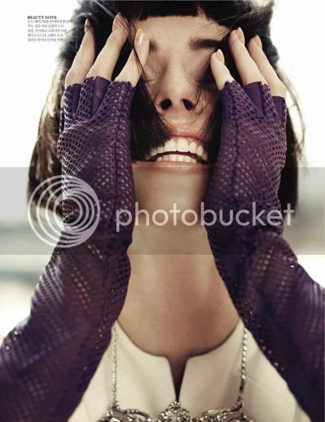 Editorial ELLE Korea Iconic Coco Coco Rocha shot by Hong Jang