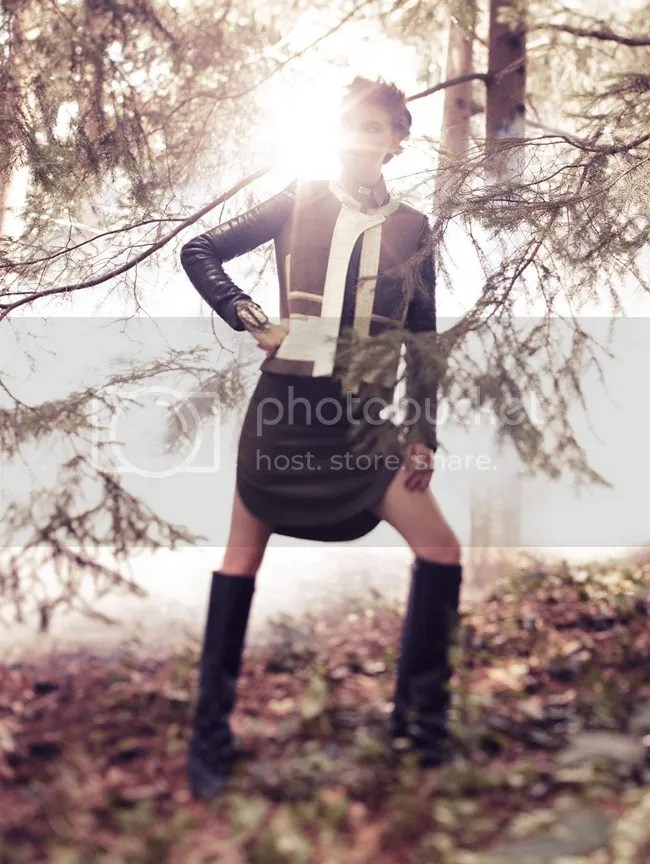 Vogue Korea Sundown Rider Arizona Muse Alexi Lubomirski editorial