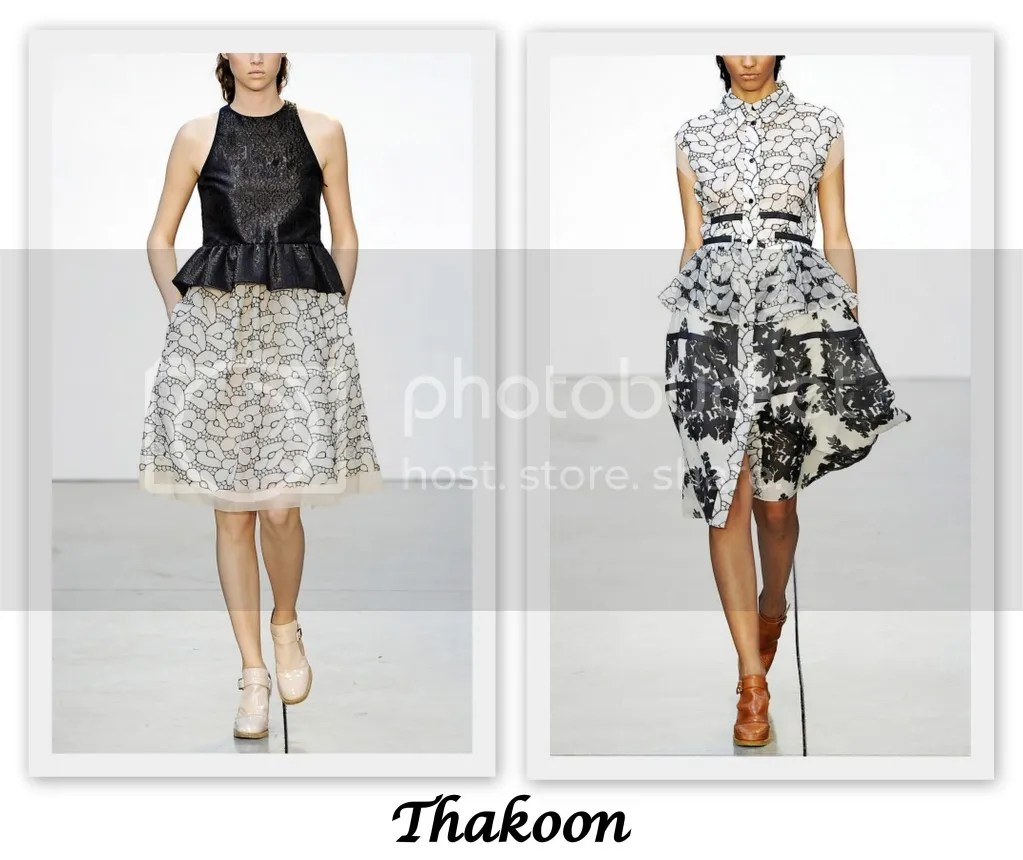 New York Fashion Week S/S 2013 Thakoon