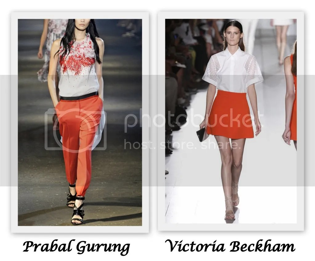 New York Fashion Week S/S 2013 Prabal Gurung Victoria Beckham