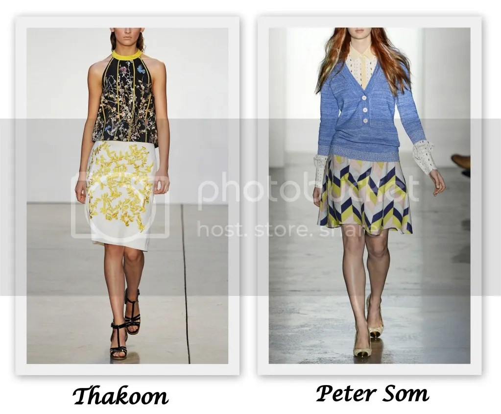 New York Fashion Week S/S 2013 Thakoon Peter Som
