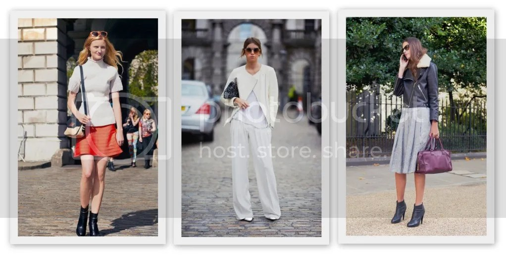 Street Style London Fashion Week S/S2013