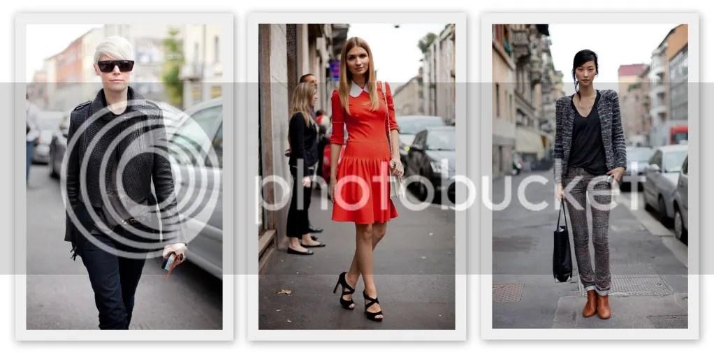 Street Style Milan Fashion Week S/S 2013