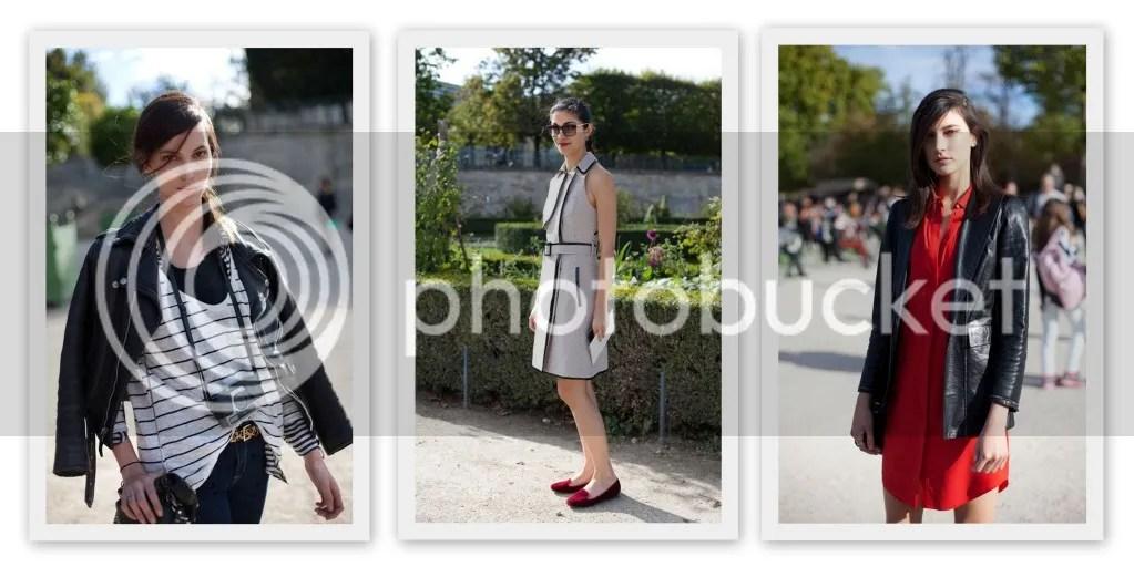 Street Style Paris Fashion Week S/S 2013
