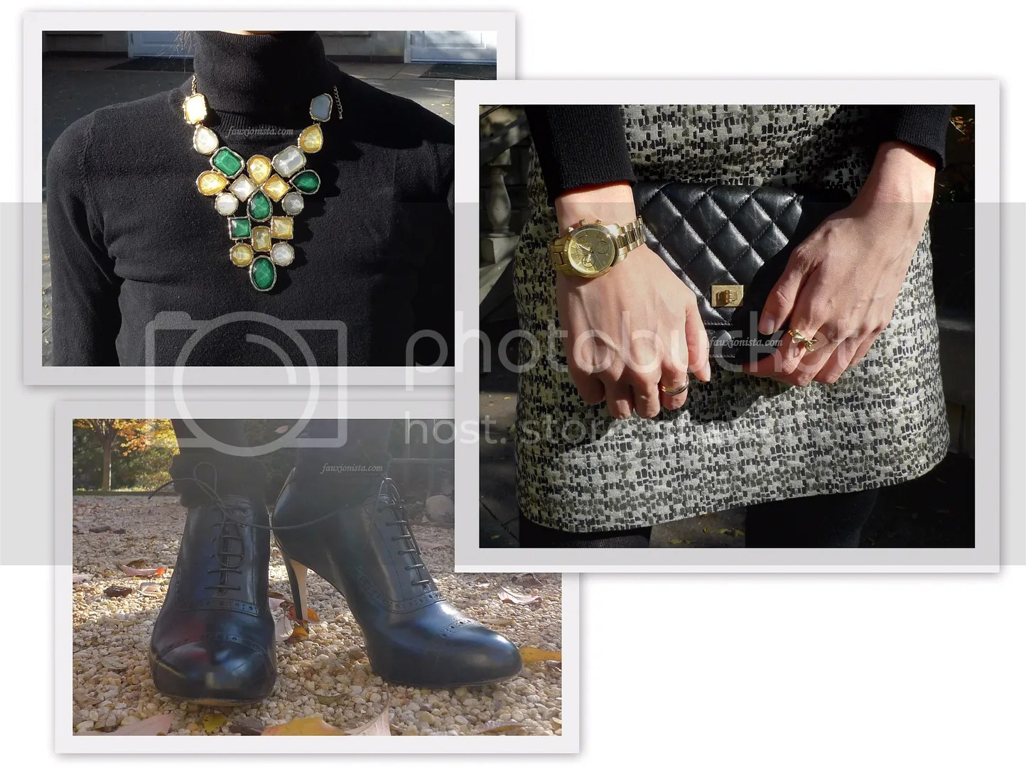 Fauxionable Outfit - What to Wear Where: Thanksgiving Accessories
