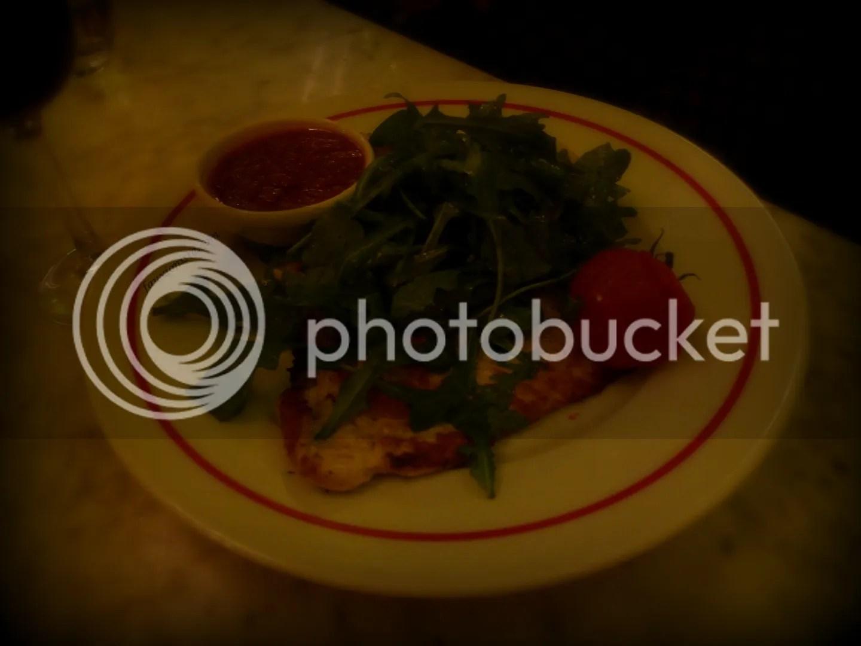 Smoked Salmon Cafe La Favorite Le Marais Paris