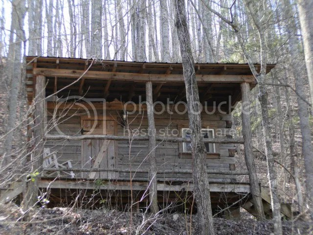 This estate boasts a log guest cabin which could also be used for a vacation rental, Franklin NC Log Homes for Sale, Large acreage homes for sale in the mountain of Western NC