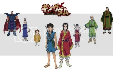 kingdom anime characters