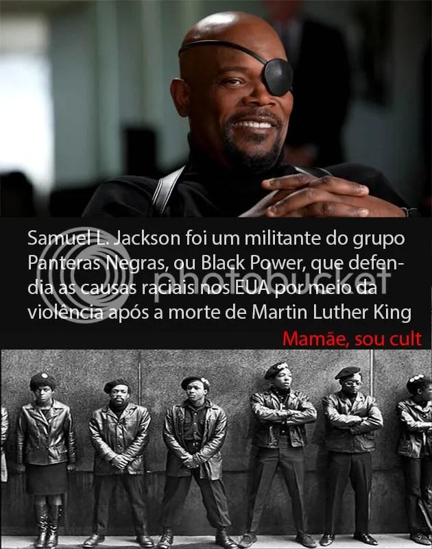 Samuel L. Jackson foi um Pantera Negra