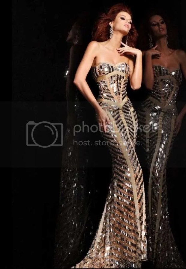 prom dress woman
