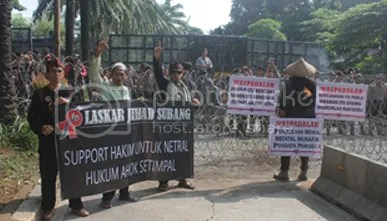 Laskar Jihad Subang Turun, Ahok Dihukum 2 Tahun