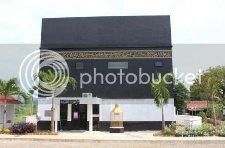 Masjid Berbentuk Ka'bah di Kalijati Subang Jadi Objek Wisata di Bulan Ramadhan