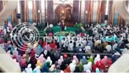Peringatan Isra Mi'raj di Mesjid Agung Cimahi
