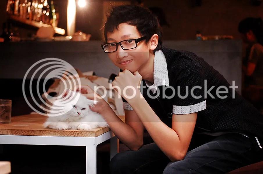 Ban Tuấn và chú mèo mà tôi yêu thích nhất ♥