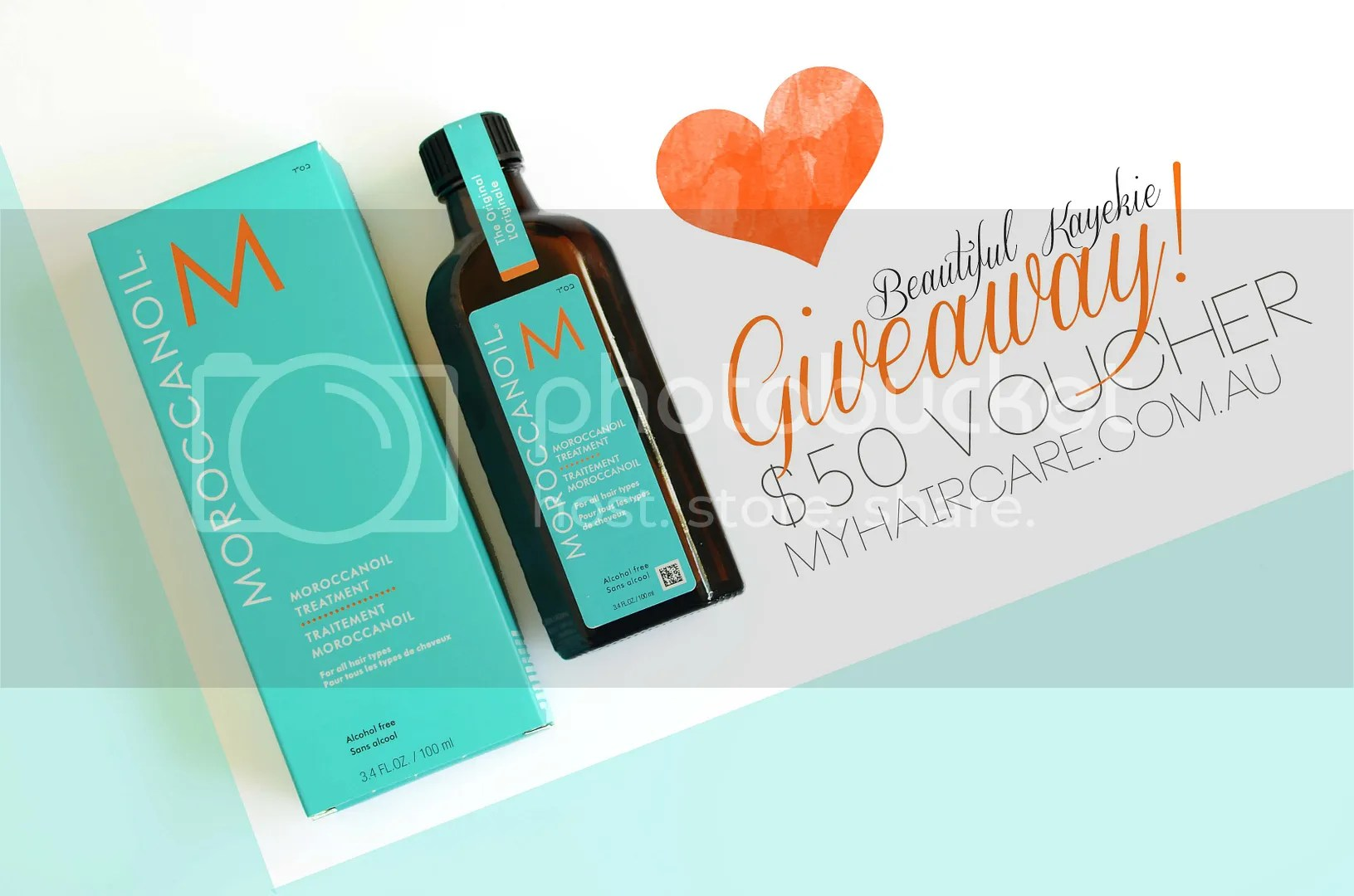 My Haircare Giveaway - $50 voucher!