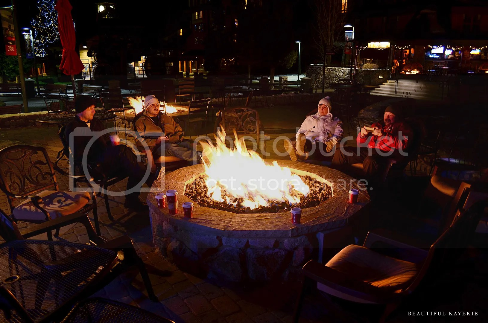 Heavenly Village Fire Pits Tahoe