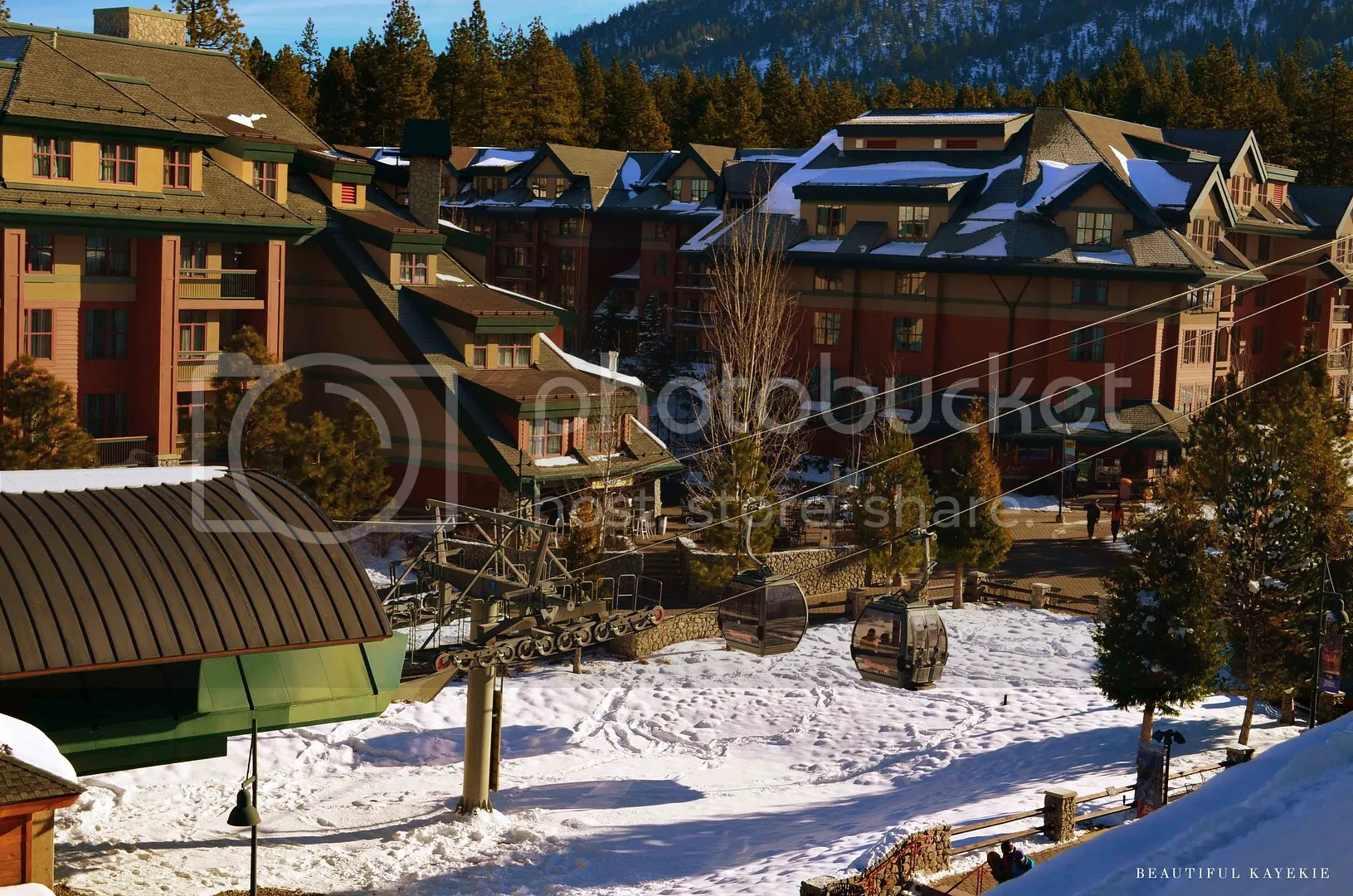 Heavenly Village Gondola Lake Tahoe California