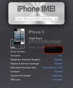 Cek IMEI iPhone Unlock