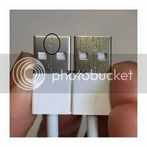Kepala kabel Lightning 2