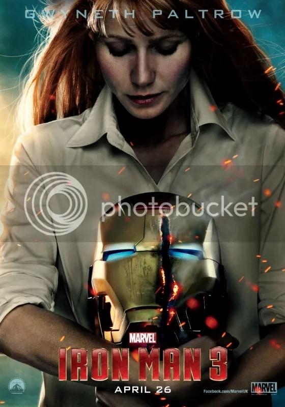 Iron Man 3, Gwyneth Paltrow