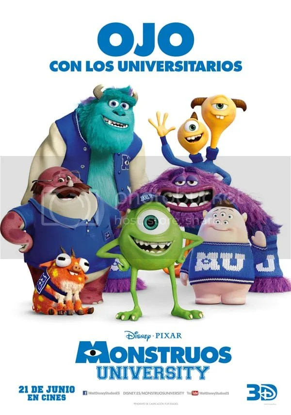 monstruos universidad