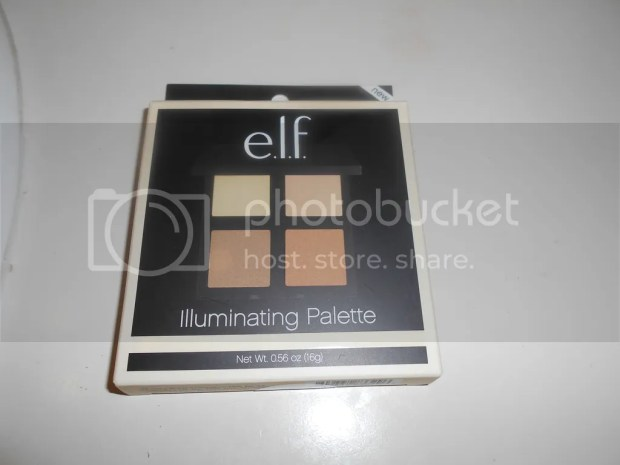 e.l.f. illiminating palette review