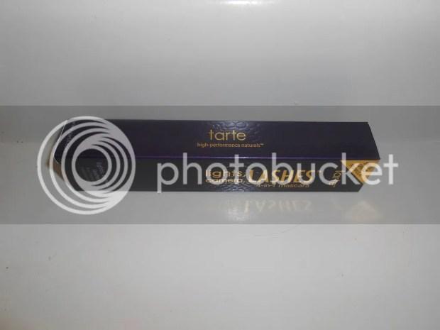 tarte lights camera lashes mascara review