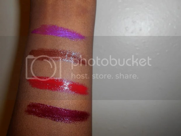 black opal lip glosses review