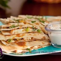 Day 86 : Chicken and Pineapple Quesadillas